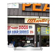 Atlantic City New Jersey - Boardwalk Shower Curtain