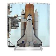 Atlantis Space Shuttle Shower Curtain