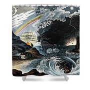 Atmospheric Effects 1846 Shower Curtain