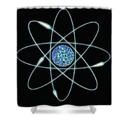 Atom Shower Curtain