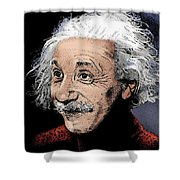 Atomic Albert Shower Curtain