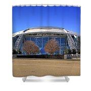 Att Stadium Shower Curtain