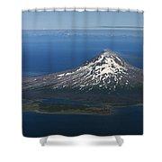 Augustine Volcano Cook Inlet Alaska Shower Curtain