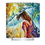Aura Of Autumn 1 Shower Curtain