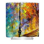 Aura Of Autumn 2 Shower Curtain