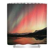 Aurora Borealis Northern Lights Shower Curtain
