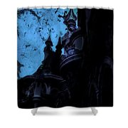 Aurora's Nightmare II Shower Curtain