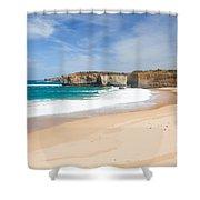 Australian Beach Shower Curtain