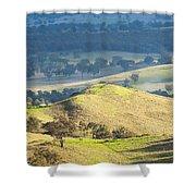 Australian Landscape Shower Curtain