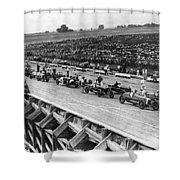 Auto Race, C1922 Shower Curtain