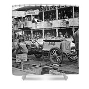 Auto Racing, 1910 Shower Curtain