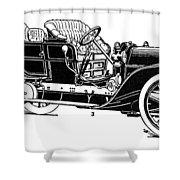Automobile, 1907 Shower Curtain