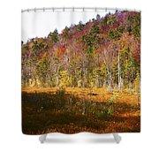 Autumn In The Adirondacks Shower Curtain