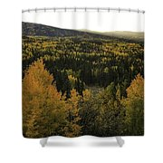 Autumn Sunrise Shower Curtain