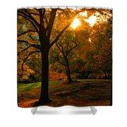 Autumn Sunset Shower Curtain