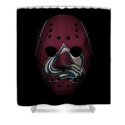 Avalanche Jersey Mask Shower Curtain