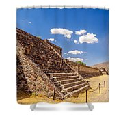 Avenue Of The Dead Shower Curtain
