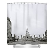 Ayutthaya Shower Curtain