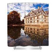 Azay Le Rideau / Loire Valley Shower Curtain