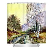 Backroads Shower Curtain