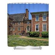 Bacons Castle Surry Virginia Shower Curtain