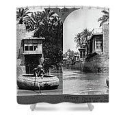 Baghdad Tigris, C1914 Shower Curtain