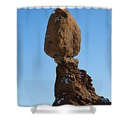 Balanced Rock Arches National Park Utah Shower Curtain