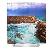 Baleal Shower Curtain