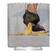 Banana Peel Shower Curtain