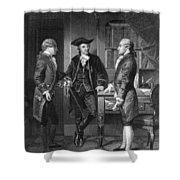 Baron De Kalb (1721-1780) Shower Curtain