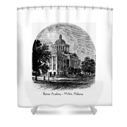 Barton Academy - Mobile Alabama Shower Curtain