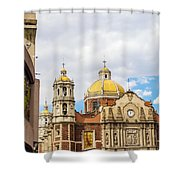Basilica Of Our Lady Of Guadalupe Shower Curtain