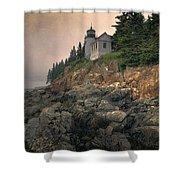 Bass Harbor Head Light II Shower Curtain