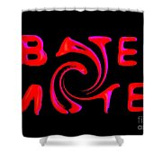 Bates Motel In Blood And Twisted Shower Curtain