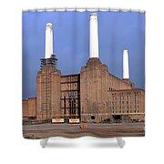 Battersea Power Station Shower Curtain