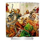 Battle Of Grunwald Shower Curtain