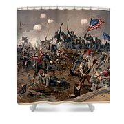 Battle Of Spottsylvania Shower Curtain