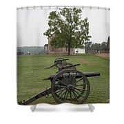 Battlefield Manassas Shower Curtain