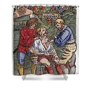 Battlefield Surgeon, 1540 Shower Curtain