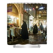Bazaar Market In Isfahan Iran Shower Curtain