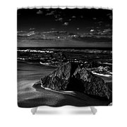Beach 18 Shower Curtain