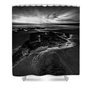 Beach 24 Shower Curtain