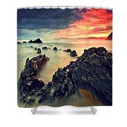 Beach 3 Shower Curtain