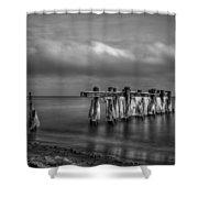 Beach 19 Shower Curtain