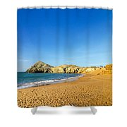 Beach In La Guajira Colombia Shower Curtain