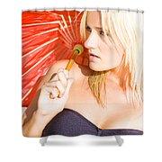Beaches To Explore Shower Curtain