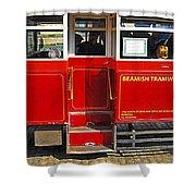 Beamish Tramways Shower Curtain