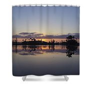 Beautiful Orlando Sunrise Shower Curtain