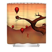 Believe What You See Shower Curtain