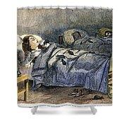 Bellevue Hospital, 1860 Shower Curtain